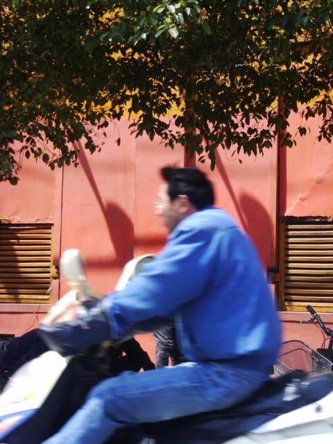 workers with orange helmets